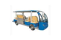 Электроавтобус с дорожкой для инвалидных калясок EG6158T
