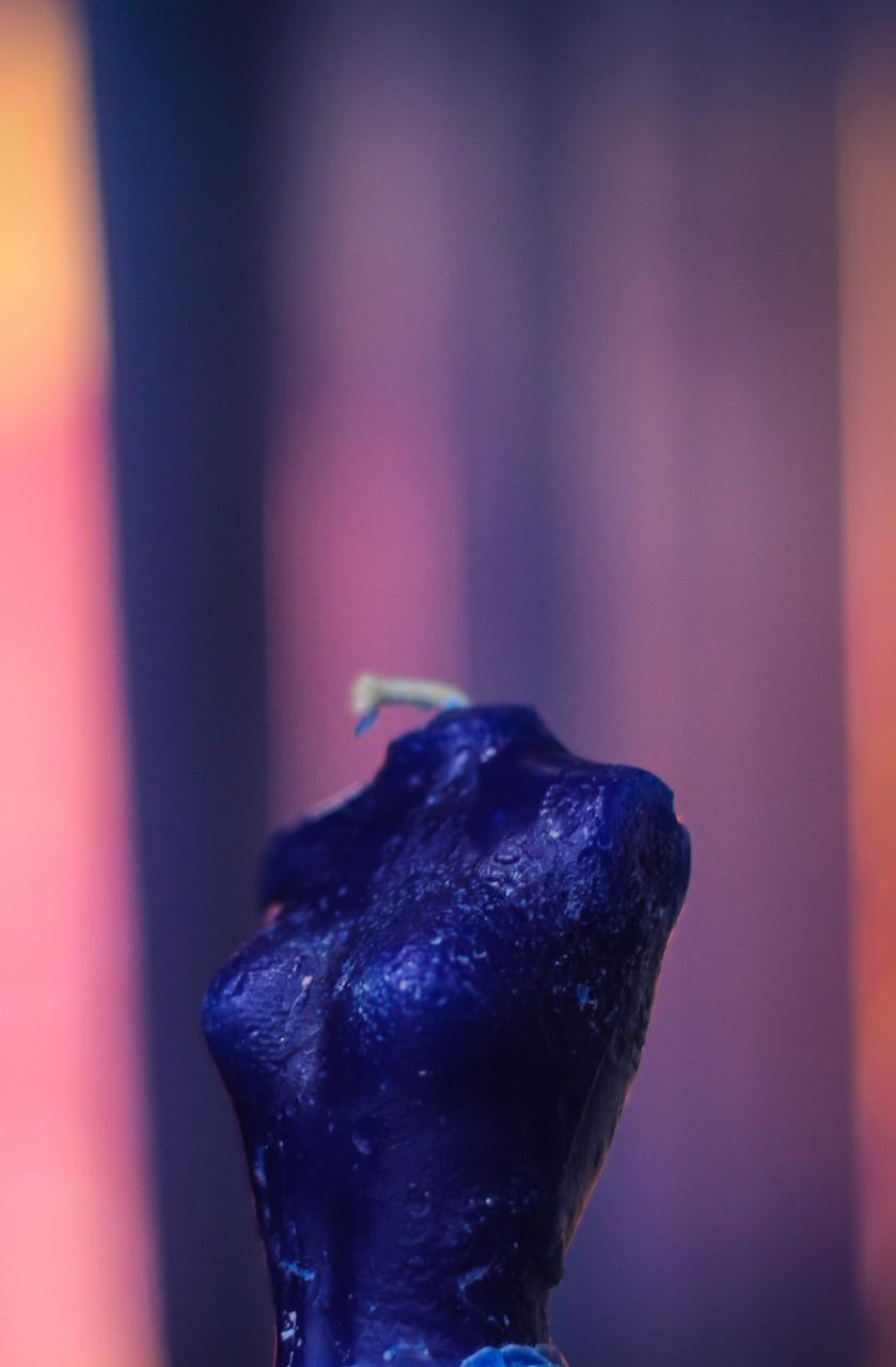 """Магическая Восковая свеча """"Хозяюшка"""""""