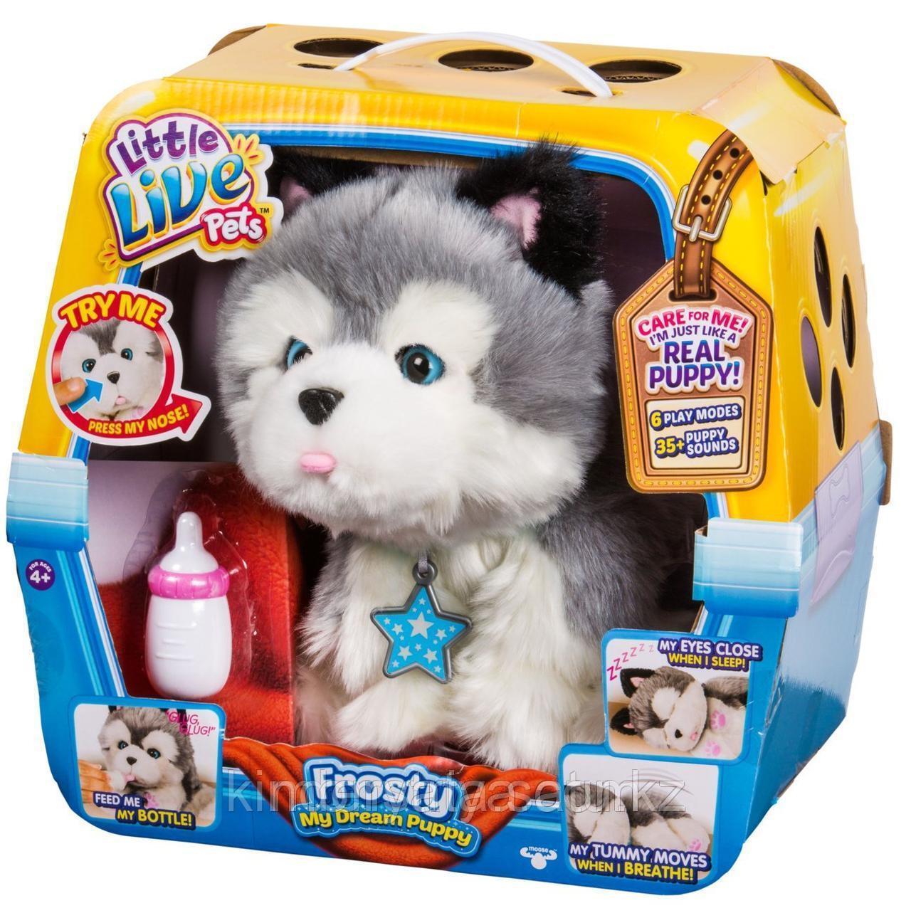 Интерактивная игрушка Ласковый щенок Моей мечты Литл Лайф Петс (MOOSE Little Live Pets)
