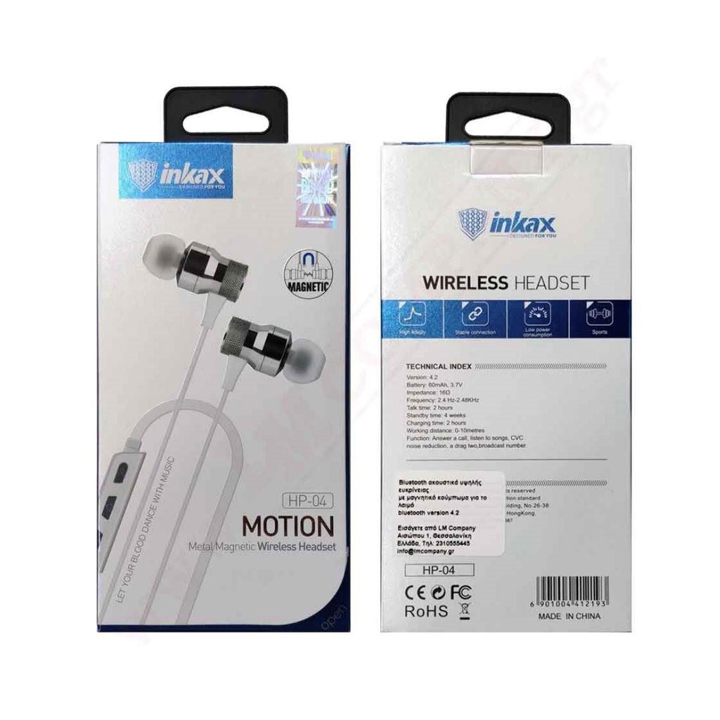 Наушники INKAX HP-04 Bluetooth
