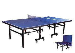 Большой теннисный стол GF-1258 (синий, уличный) +сетка, фото 2