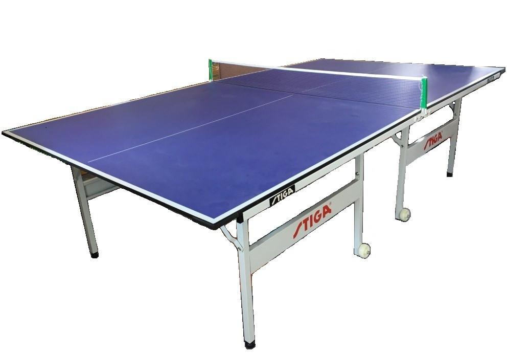 Большой теннисный стол Stiga (синий) +сетка