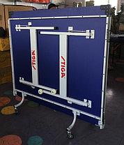 Большой теннисный стол Stiga (синий) +сетка, фото 3