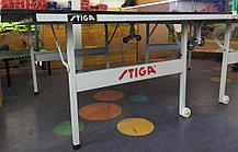 Большой теннисный стол Stiga (синий) +сетка, фото 2