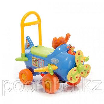 Чудомобиль Kiddieland Самолет Тигры сине-оранжевый