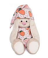 Зайка Ми большой в пижаме в клубнички , фото 1