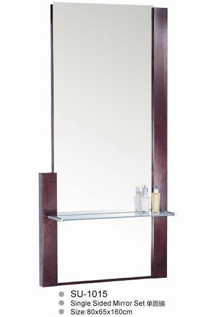 Зеркало для салонов красоты цвет серебро