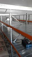Стеллаж металлический средне-грузовой  доп. секция