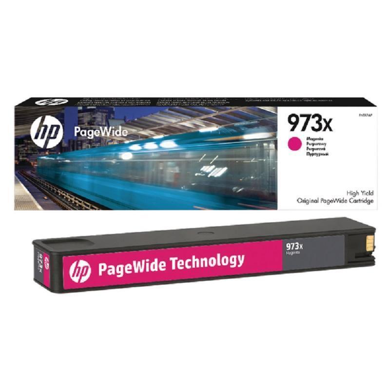 HP Картридж F6T82AE №973 пурпурный