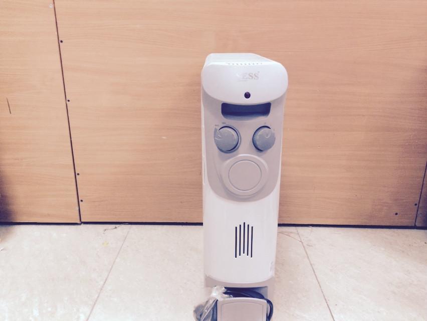 Масляный радиатор 2.0КВТ 12 секций с вентилятором SESS