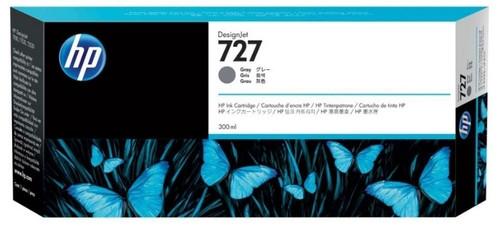 HP Картридж F9J80A серый №727