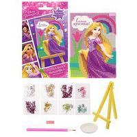 Вышивка алмазная для детей 'Самая красивая!' Принцессы Рапунцель