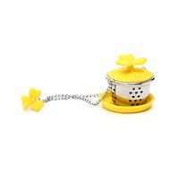 Ситичко для заварки желтое