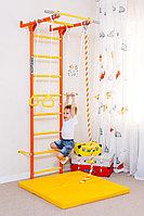 Шведская стенка Романа 0170, канат трапеция, турник, кольца гимнастические, лестница гимнастическая