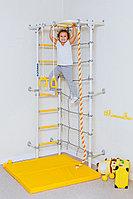 Шведская стенка ROMANA, канат, сетка лазалка, лестница гимнастическая