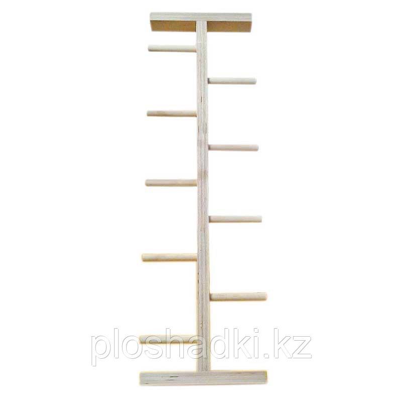 Лестница Елочка, тренажер деревянный