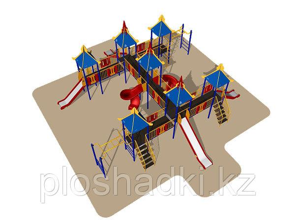 Игровой комплекс Romana, горки, лестницы, шведская стенка, лаз