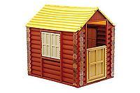 Домик - Лесной, с крышей, ставнями дверцей