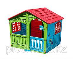 Домик - Фермер, пластиковый, с крышей, дверцей, для дома и сада