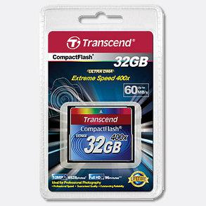 Transcend TS32GCF400, Compact Flash 32G 400x, фото 2
