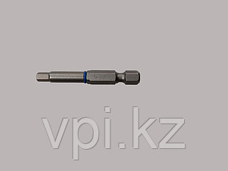 Бита HEX (шестигранник), под конфирмат, 4*50мм,  ЗУБР