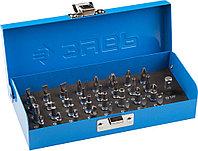 Набор бит с магнитным адаптером и переходником, тип PH, PZ,SL,TORX, HEX, ЗУБР Эксперт