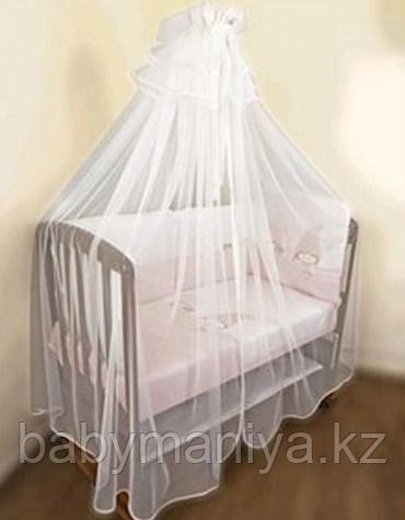 Балдахин для детской кроватки BAMBOLA 150*400 Белый