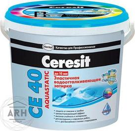 """Затирки для швов плитки на цементной основе """"Ceresit"""" CE40"""