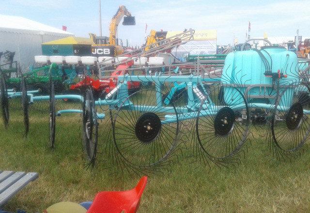 Грабли-ворошилки OGR-8 ми колесные Mv-Groupp, фото 2