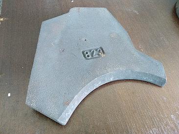 Нижняя пластина (плита) износа 823