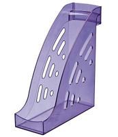 """Лоток вертикальный СТАММ """"ТОРНАДО""""  фиолетовый GIACINT"""