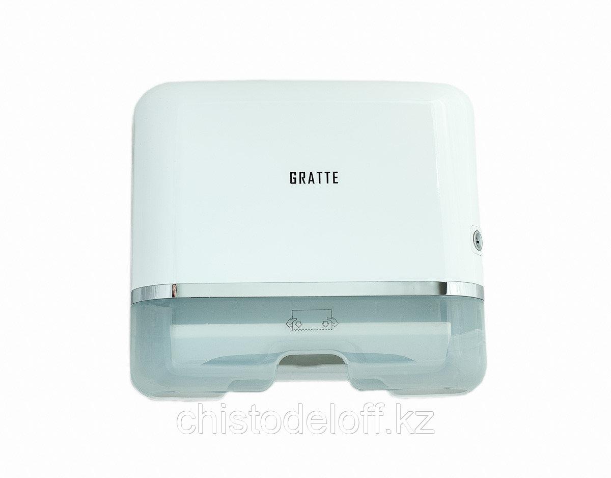 Диспенсер для бумажных полотенец GRATTE PD-550 (W)