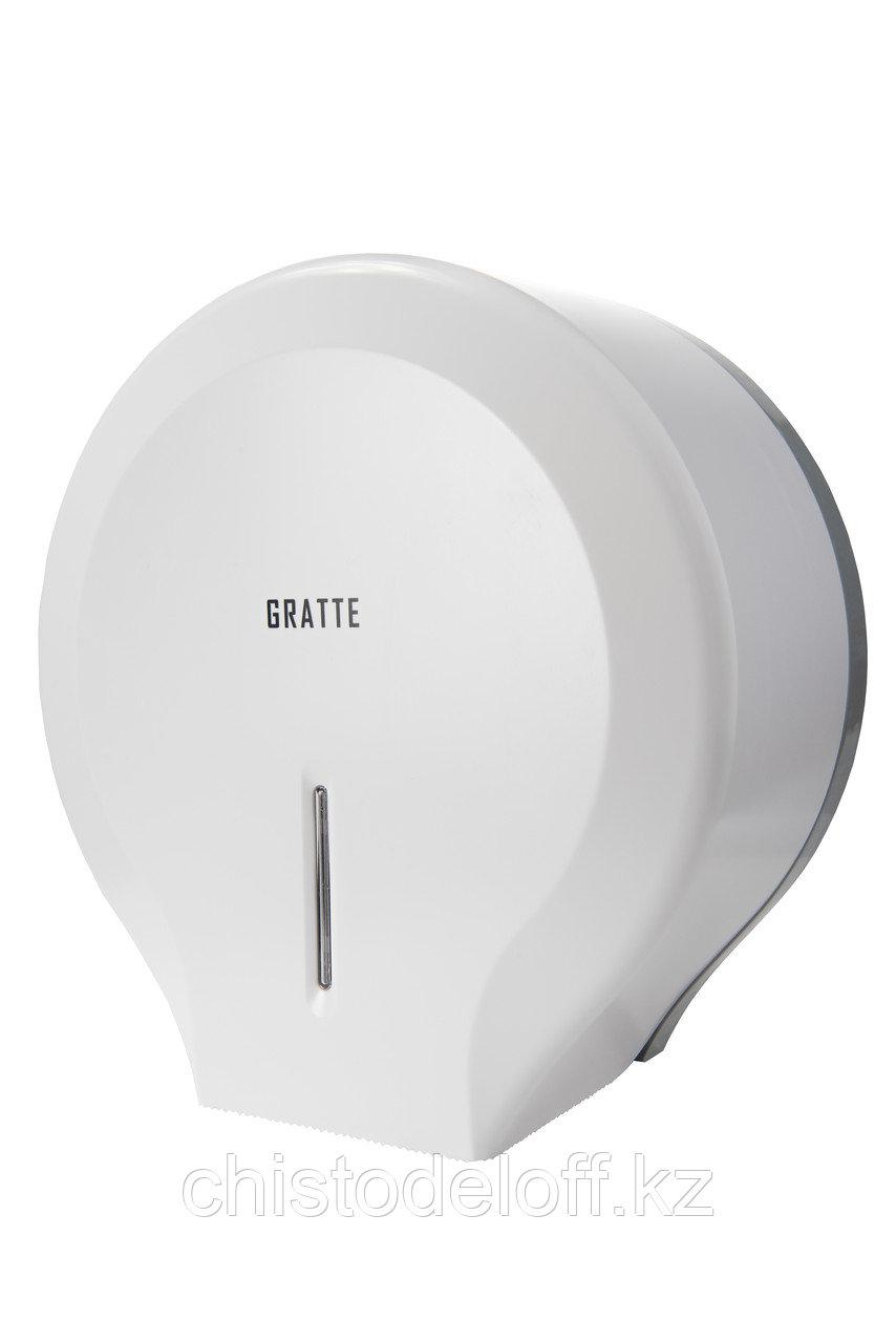 Диспенсер для туалетной бумаги GRATTE T-160 (W)