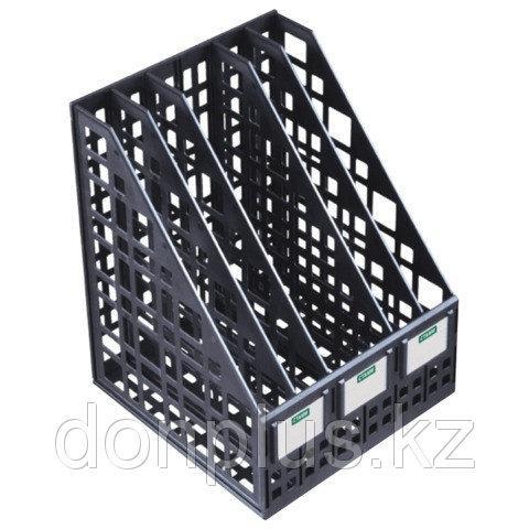 Лоток вертикальный СТАММ, 5 отделений, черный
