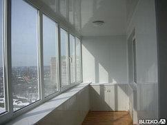 Алюминиевые балконы система теплых профилей