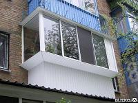 Балкон купе под ключ