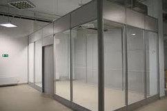 Офисные перегородки из стекла