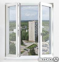 Штульповое окно под ключ