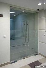 Маятниковые двери  для входной  группы