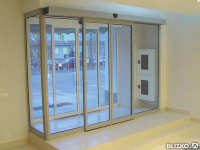 Автоматические двери раздвижные для входной группы, фото 2