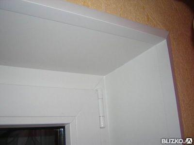 Откосы на окна, доставка и монтаж
