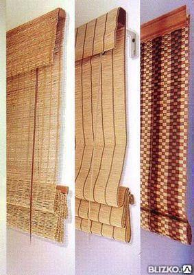 Жалюзи бамбуковые, доставим, установим