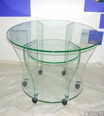 Изделия из закаленного стекла столы, фото 2