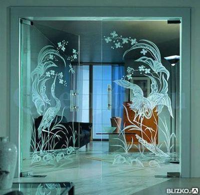 Изделия из закаленного стекла прозрачные