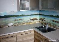 Изделия из закаленного стекла Кухонные фартуки