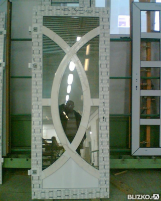 Пластиковые двери, фото 2