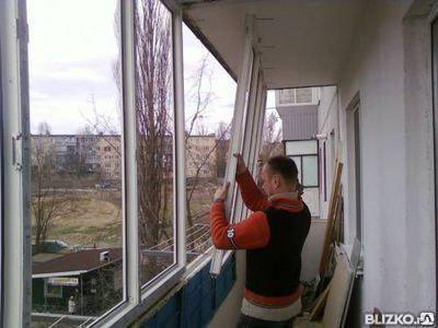 Установка балконов, оконных блоков, работа под ключ, фото 2