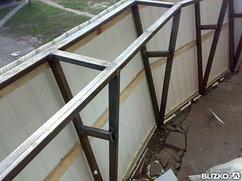 Монтаж балконов и лоджий, проектирование и изготовление металлоконструкций