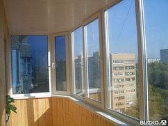 Теплый балкон многокамерный ПВХ профиль, теплоизоляция, шумозащита
