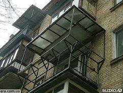 Каркасы под балконы и лоджии с доставкой и монтажом